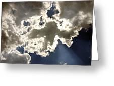 Cloud Photograph  Greeting Card