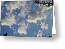 Clouds 10 Greeting Card
