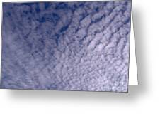Lots Of Clouds Greeting Card