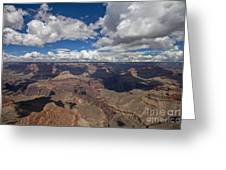 Clouds Over Grand Canyon Greeting Card