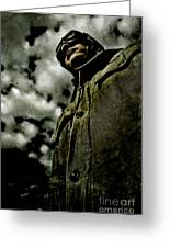 Cloudy Captain Greeting Card