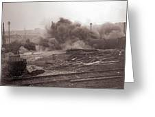 Coal Dust Explosion Experiment Greeting Card