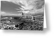 Coastal  Greeting Card by Becca Brann