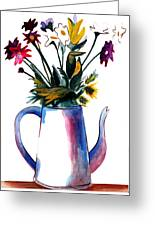 Coffee Pot Greeting Card