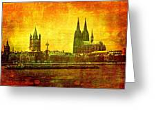 Cologne Greeting Card