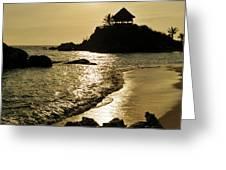 Colombia, Tayrona National Park, Cabo Greeting Card