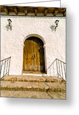 Colonial Door Greeting Card