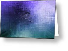 Color Sensation Blue Greeting Card