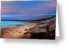 Colorful Beach Greeting Card