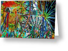 Colors Of Happiness Greeting Card