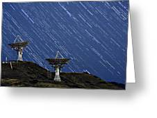 Communications To The Stars Greeting Card