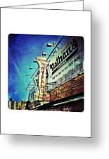 Coney Island Grub Greeting Card