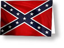 Confederate Flag 5 Greeting Card