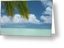 Cook Islands, Aitutaki (aka Araura Greeting Card