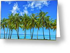 Cool Breeze Greeting Card