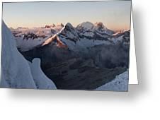 Cordillera Blanca Greeting Card
