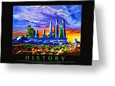 Corporate Art 006 Greeting Card