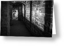Corridor Greeting Card