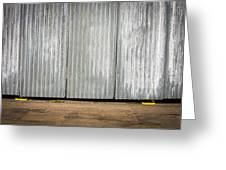 Corrugated Metal Greeting Card