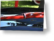 Corvette Torch Greeting Card