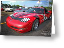 Corvette Z06 Greeting Card