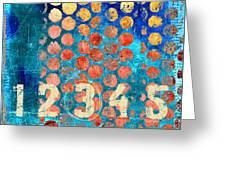 Counting Circles Greeting Card