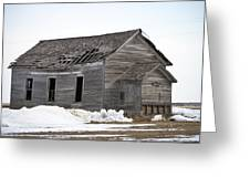 Country School Greeting Card