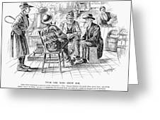 Country Store, 1894 Greeting Card