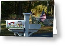 Countryside Mailbox #9 Greeting Card