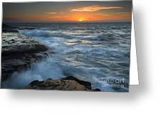 Covered By The Sea Greeting Card