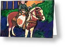 Cowboy Dale Greeting Card