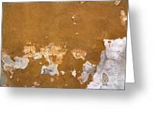 Cracked Stucco - Grunge Background Greeting Card