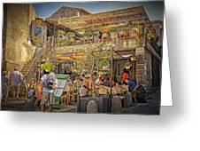 Creperie Restaurant Carcassonne Dsc01697 Greeting Card