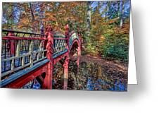 Crim Dell Bridge Greeting Card