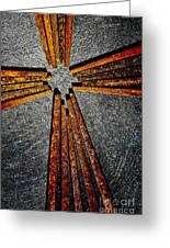 Cross Of Nails Greeting Card