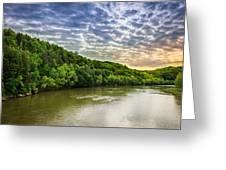 Cumberland River Greeting Card