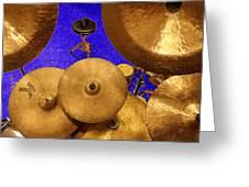 Cymbals Greeting Card