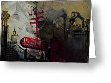 Dallas Skyline 003 Greeting Card