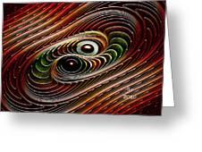 Dance Galactica Greeting Card
