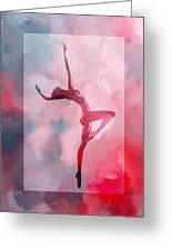 Dancing In The Clouds Greeting Card