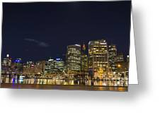 Darling Harbour In Sydney Australia Greeting Card