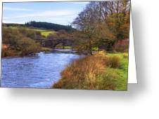 Dartmoor - Two Bridges Greeting Card