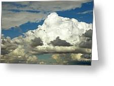 Daunting Sky Greeting Card