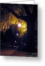 Davenport At Night Greeting Card