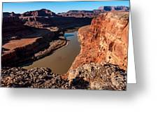 Dead Horse Point Colorado River Bend Greeting Card