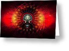 Deadstep - Hellfire Remix Greeting Card by George Smith
