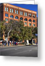 Dealey Plaza Greeting Card