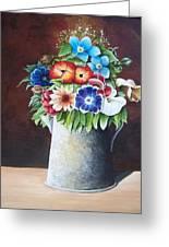 Deanne's Flower Pot Greeting Card