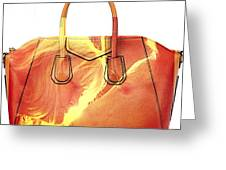 Debbie And Magnus Purse Painting Greeting Card