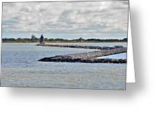 Delaware Breakwater East End Lighthouse Greeting Card